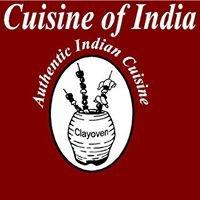 Cranbrook Cuisine of India