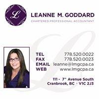 Leanne M. Goddard, Chartered Professional Accountant