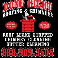 Done Right Roofing & Chimney Inc.