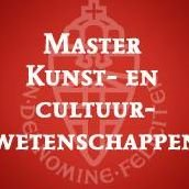 Master Kunst- en cultuurwetenschappen