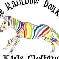 Rainbow Donkey Kids Clothing