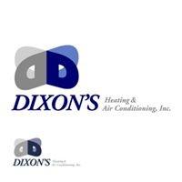 Dixon's Heating & Air Conditioning, Inc.