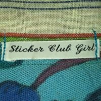 Sticker Club Girl