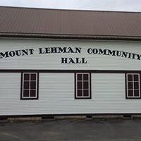 Mt Lehman Community Association