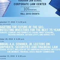 Fordham University School of Law Corporate Law Center