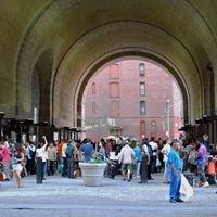 Archway Under The Manhattan Bridge