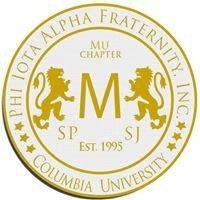 Mu Chapter of Phi Iota Alpha Fraternity, Inc at Columbia University