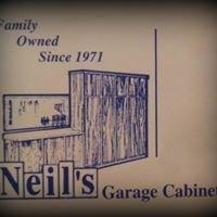 Neil's Garage Cabinets