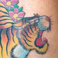 Electric Tiger Tattoo