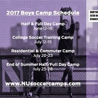 Northwestern Boys Soccer Camps
