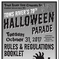 Toms River Fire Company # 1 Halloween Parade