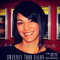 Sherry Flack at Sweeney Todd Salon
