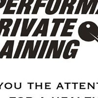 Performance Private Training