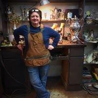 Tootsie Bell- silversmith/jeweler/sculptor