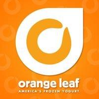 Orange Leaf Triangle