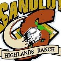 Sandlot Baseball Academy Highlands Ranch
