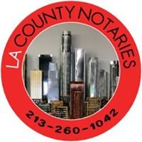 Los Angeles County Notaries 213-260-1042