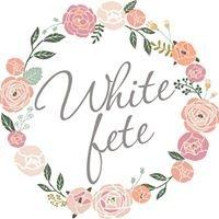 White Fete Weddings