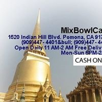 Mix Bowl Cafe Pomona, Thai Restaurant