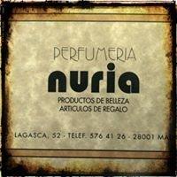 Perfumería Nuria Madrid