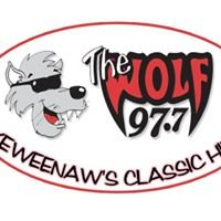 """WOLV FM, Keweenaw's Classic Hits, 97.7 """"The Wolf"""""""