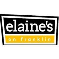 Elaine's On Franklin