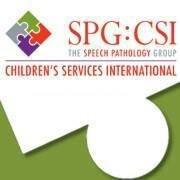 Speech Pathology Group: Children's Services International
