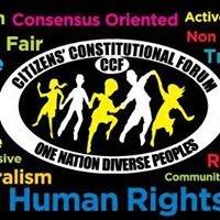 Citizens' Constitutional Forum - CCF