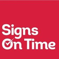 Signs On Time