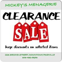Mickey's Menagerie
