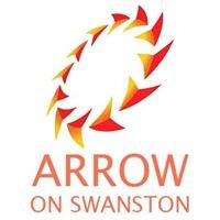 Arrow on Swanston