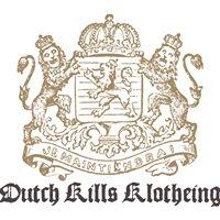 Dutch Kills Klotheing