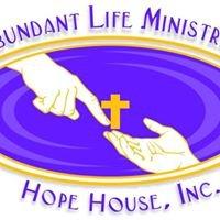 Abundant Life Ministries-Hope House, Inc
