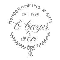 B. Bayer & Co. Monogramming & Gifts