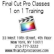 Final Cut PRO Classes