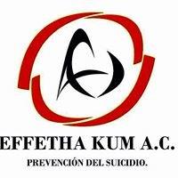 Prevención Del Suicidio Effetha Kum A.C.