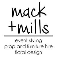 Mack+Mills Event Styling & Hire
