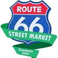 Route 66 Street Market in Downtown Joliet