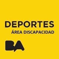Subsecretaría de Deportes - Área de discapacidad