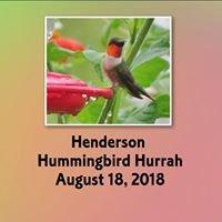 Henderson Hummingbird Hurrah
