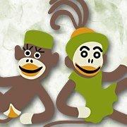 Sock Monkey's by www.PepeSherinaDesigns.com
