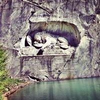 Löwendenkmal - Lion Monument In Lucerne, Switzerland