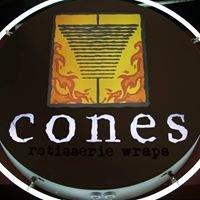 CONES rotisserie wraps