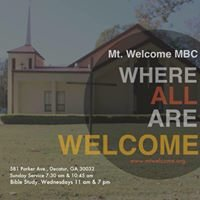 Mount Welcome Missionary Baptist Church