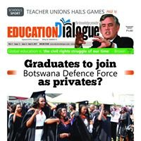 Education Dialogue newspaper