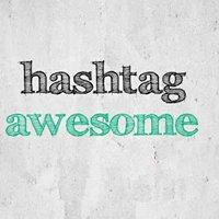 hashtagawesome