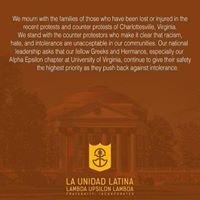 Alpha Epsilon Chapter of La Unidad Latina, ΛΥΛ