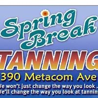 Spring Break Tanning salon