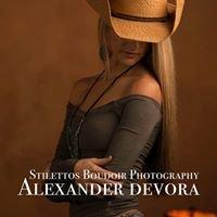 Stilettos Boudoir Photography by Alexander Devora