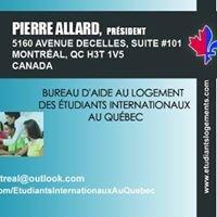 Bureau d'aide au logement des étudiants internationaux au Québec